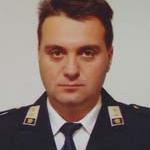 Predsednik GZ Bovec Boris Zorko gasilski častnik I.st.